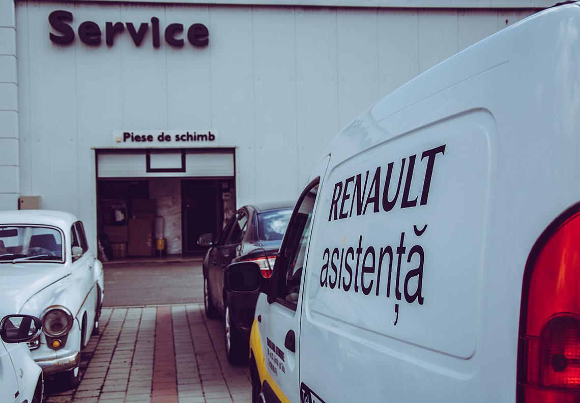 Asistenta Renault in Sibiu