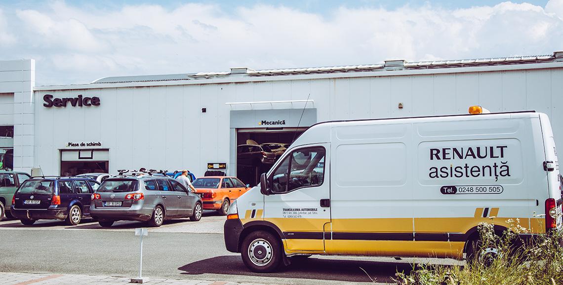 Renault Asistenta Sibiu